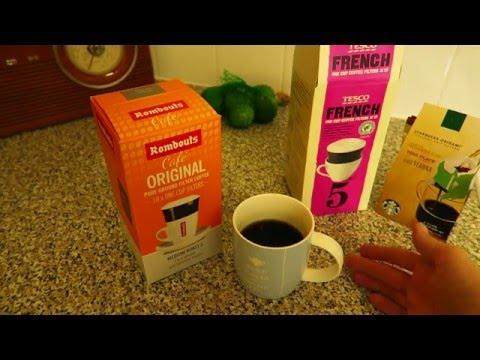 Tesco One Cup Drip Coffee Youtube