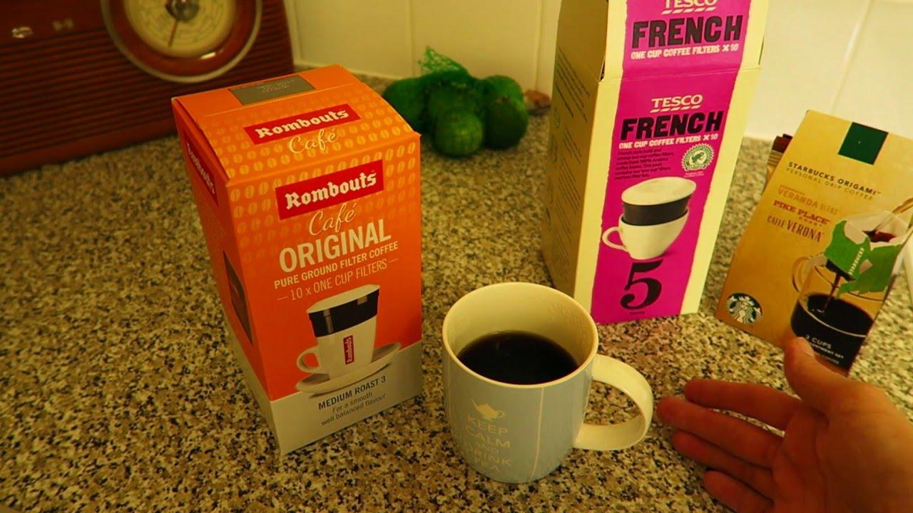 Tesco One Cup Drip Coffee