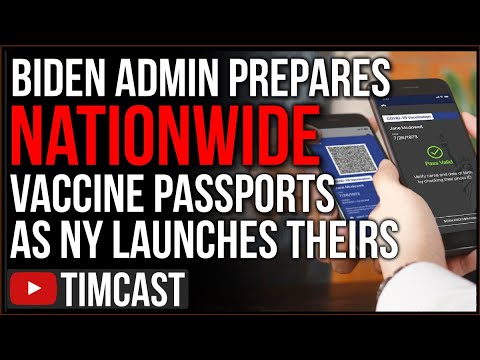 Vaccine Passports Have Launched In The US, Biden Admin Says National Passport System To Launch Soon