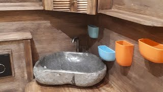 Ванная в стиле Loft