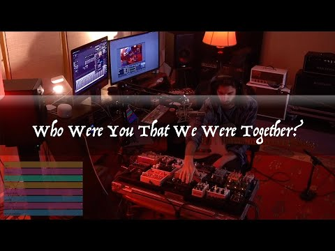 Who Were You That We Were Together? | live ambient guitar