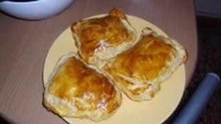 friands au fromage et blanc de poulet