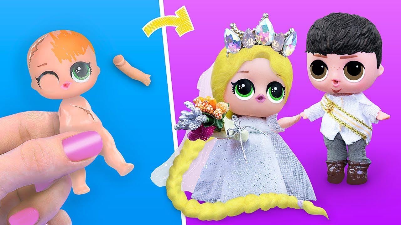 ¡Nunca Eres Grande Para Las Muñecas! 9 Diys De Enredados Para Lol Surprise