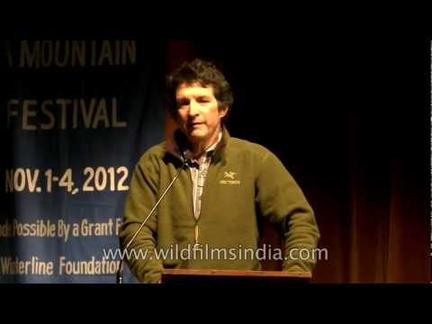 Steve Swenson speaking at Mussoorie Writers Mountain Festival Part - 1