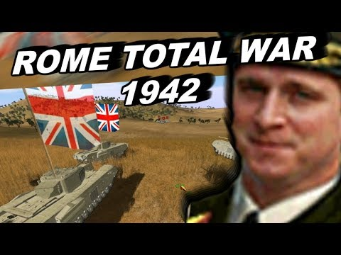 The Mod That Turns Rome Total War Into A WW2 Game