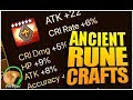 SUMMONERS WAR : Crafting Ancient Runes!