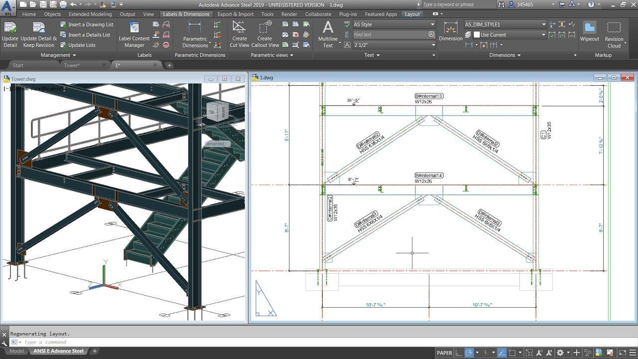 Autodesk Advance Steel 2019 Free Download