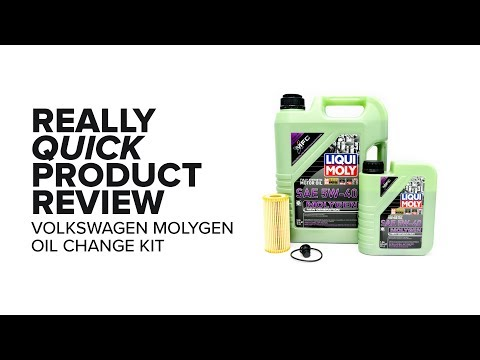 MolyGen Oil Change Kit(5W-40) - Benefits, Specs, and Product Review - Volkswagen(GTI, Golf R, Atlas)