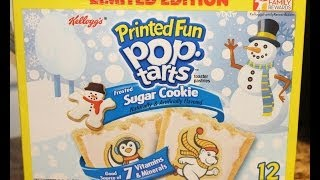 Sugar Cookie Pop Tarts Taste Test & Review