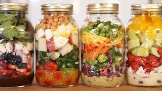 4 Salad-In-A-Jar Recipes