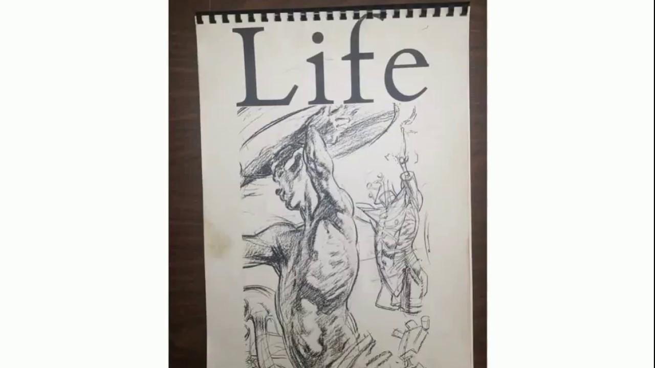 John Watkiss Life Drawing And Anatomy Classes Demonstration