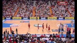Финал Евробаскета 2007: Россия - Испания(В принципе, я не верю в чудеса, но однажды я видел ЧУДО! Это чудо произошло 16 сентября 2007-го года в мадридском..., 2010-08-24T21:50:37.000Z)