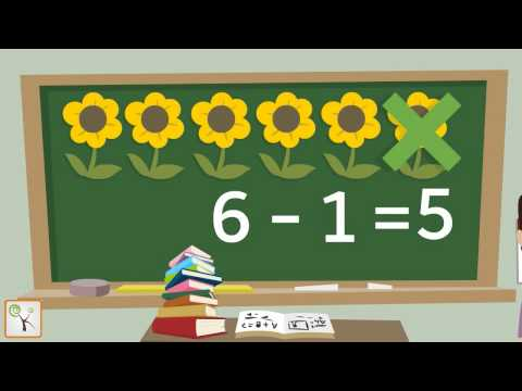 Learn Subtraction For Children | Maths For Kids, Kindergarten - Animated Learning Video | KStudio