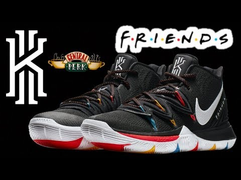kyrie 5 friends red