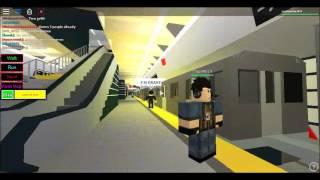 (Roblox) MTA IND Subway Special: R68 N Zug betritt 96 Street 2 Av