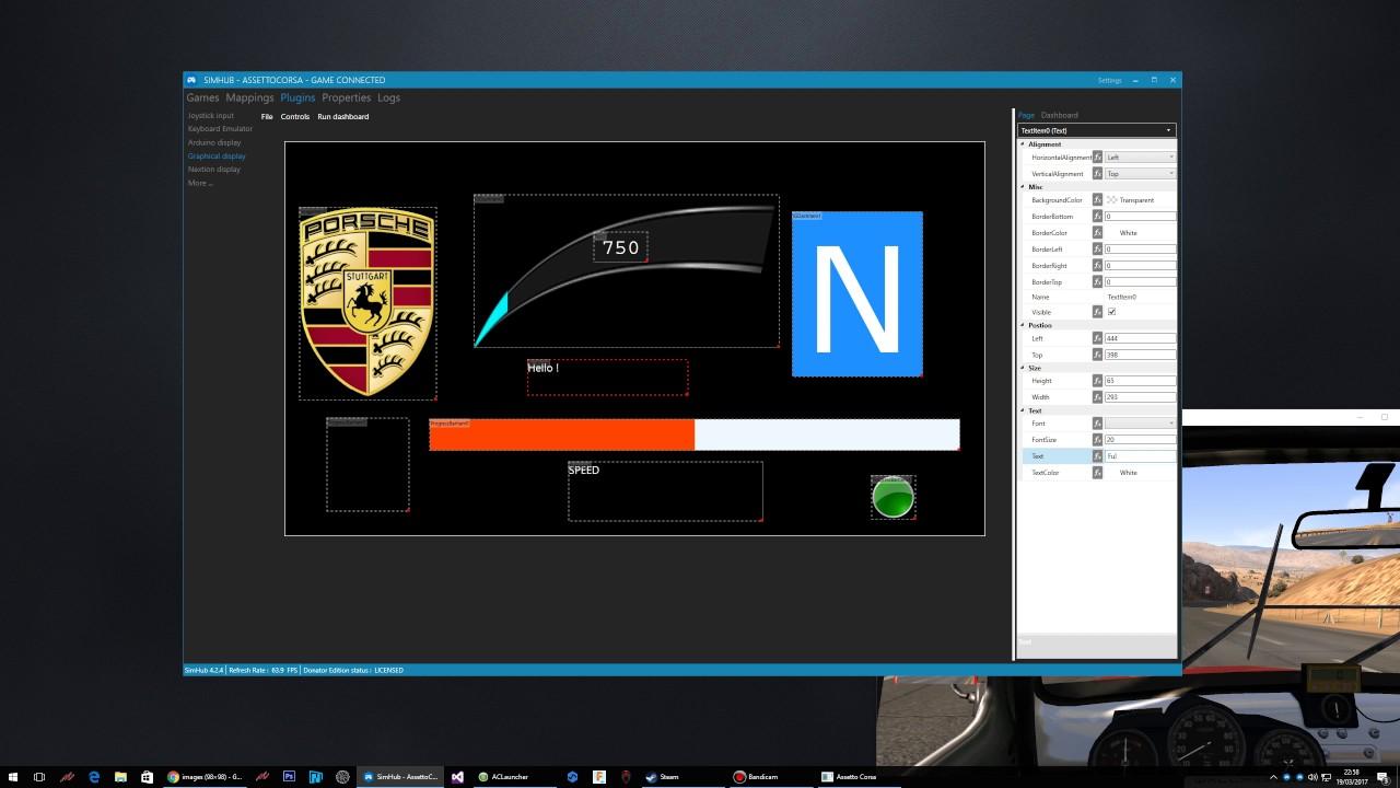 SimHub Dashboard Designer (WIP) - wotever
