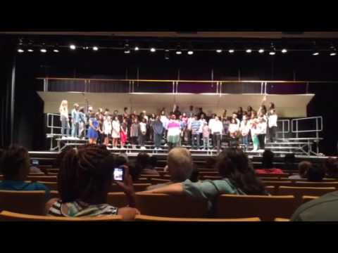 """""""Fireflies"""" performed by Smith Hale Middle School"""