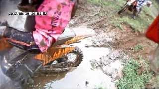 2012-08-19-Tropeiros de Faxinal no Trilhao de São Pedro do Sul RS - Banho de Lama