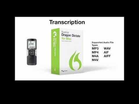 Dragon Dictate for Mac, v4: Transcription Capabilities