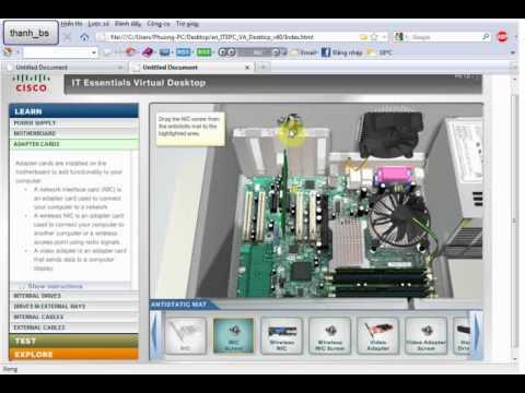 video lắp rắp phần cứng máy tính - CISCO