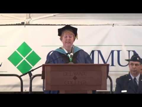 Delaware Tech 2015 Graduation Ceremony Dover