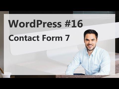 WordPress Contact Form 7 Kontaktformular 2017 [Deutsch/German]