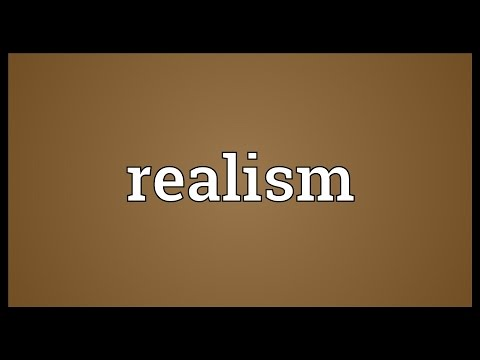 Realism Meaning