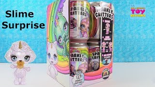 Poopsie Sparkly Critters Surprise Slime Fun Unboxing Toy Review Unicorn | PSToyReviews