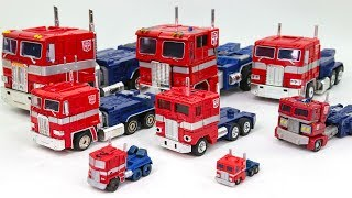 Transformers G1 Masterpiece Optimus Prime Convoy 8 Truck Vehicle Car Robot Toys