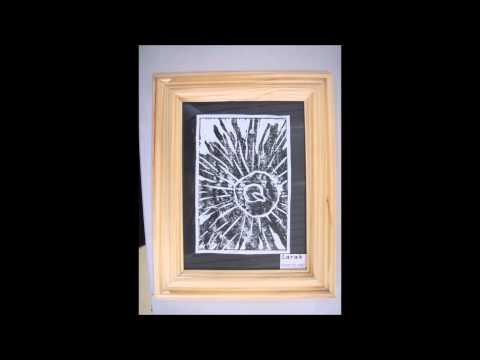 Year 5 Margaret Preston Lino Prints