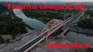 Jembatan Samota Sumbawa | Drone DJI Mavic Pro 4K Shot