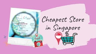 Cheapest Store in Singapore: Value Dollar