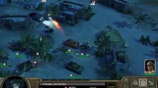 Codename Panzer -Phase 2_Allies mission 3 :Kasserine Pass