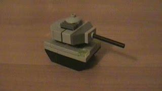 как сделать из лего танк видео легко
