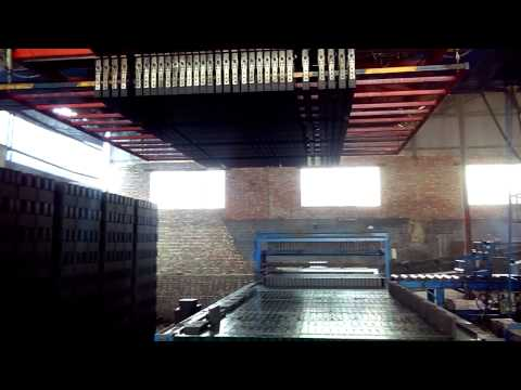 Full Auto Stacking Machine Video for Brick Making Production Line