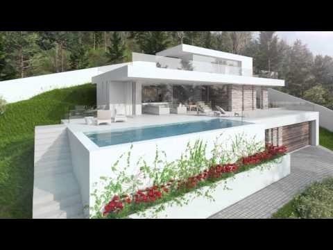 The villa eivissa a new modern villa design project for for New villa design