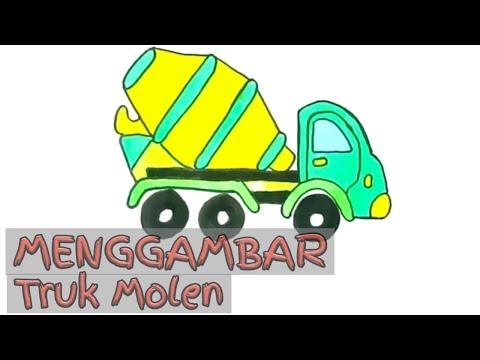 Full Download Truk Molen Menggambar Dan Mewarnai