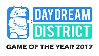 Live: The Daydream District Game Of The Year Award 2017!