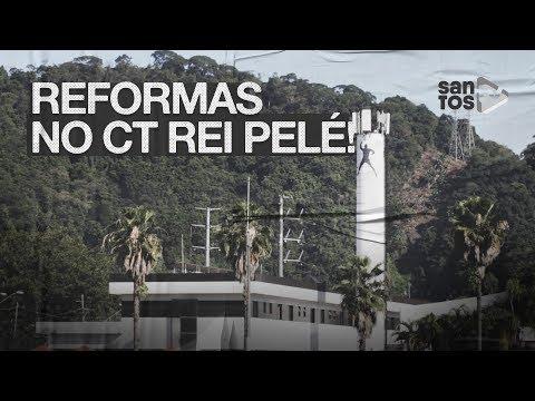 CT REI PELÉ PASSA POR MELHORIAS DE INFRAESTRUTURA