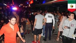 Shooting at Mexico BPM festival  5 dead, 15 injured as gunman attacks Cancun nightclub   TomoNews