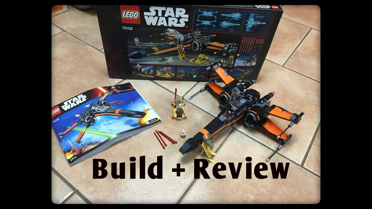 Lego star wars poe s x wing fighter review 75102 youtube - Lego Poe S X Wing Fighter Set 75102 Speed Build Review