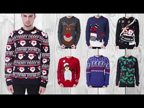 V28 Men's Christmas Sweater - Christmas Clothes For Men 2017 - Happy Christmas 2017