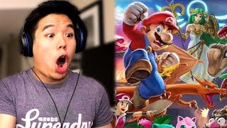 REACTING TO SMASH BROS ULTIMATE AND NINTENDO E3 DIRECT...