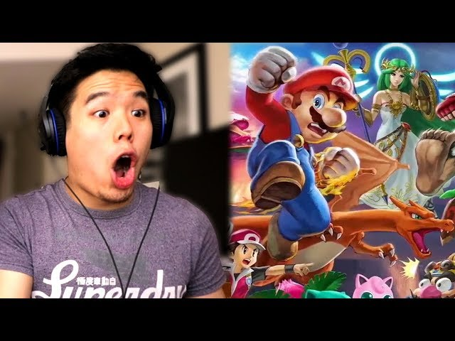 REACTING TO SMASH BROS ULTIMATE AND NINTENDO E3 DIRECT
