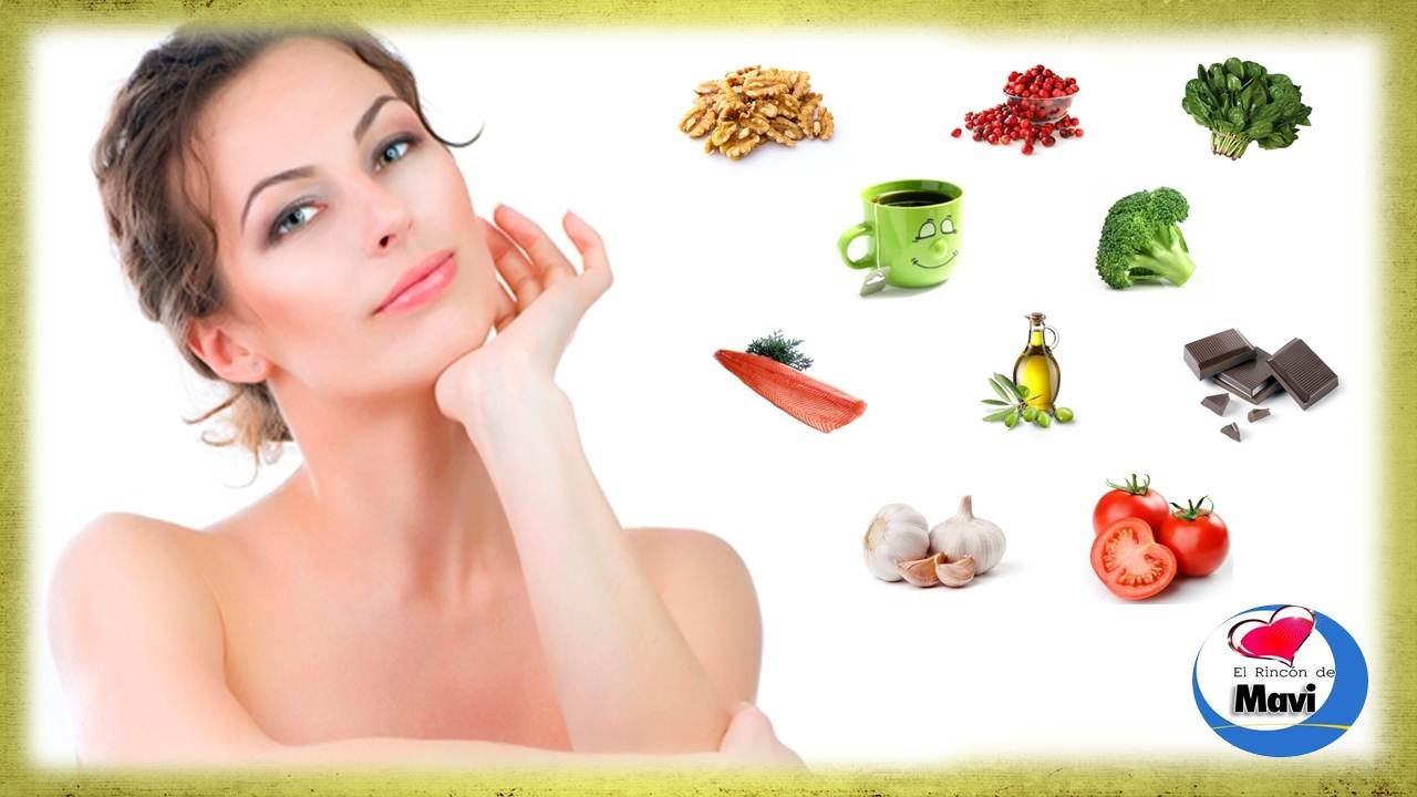 Los mejores alimentos antienvejecimiento muy bueno youtube - Alimentos antienvejecimiento ...