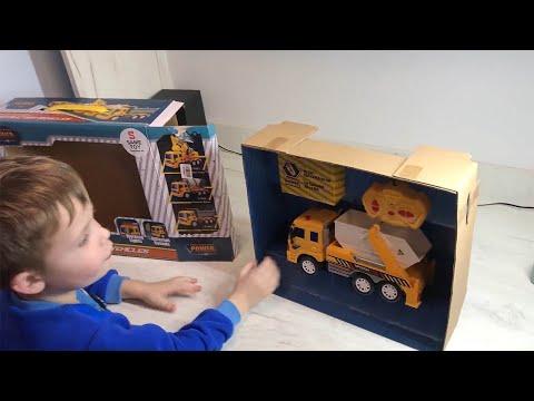 Машинка на радиоуправлении Same Toy City Грузовик с контейнером (F1606Ut)