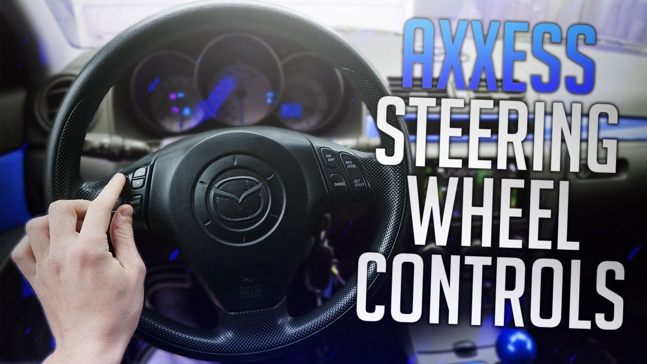 medium resolution of steering wheel control adapter install axxess aswc 1 wiring tutorial mazda mods