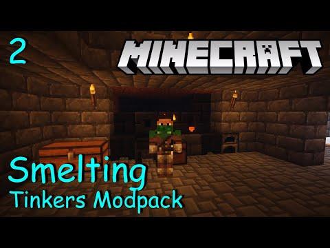 Minecraft   Tinker's Modpack #2   Smelting