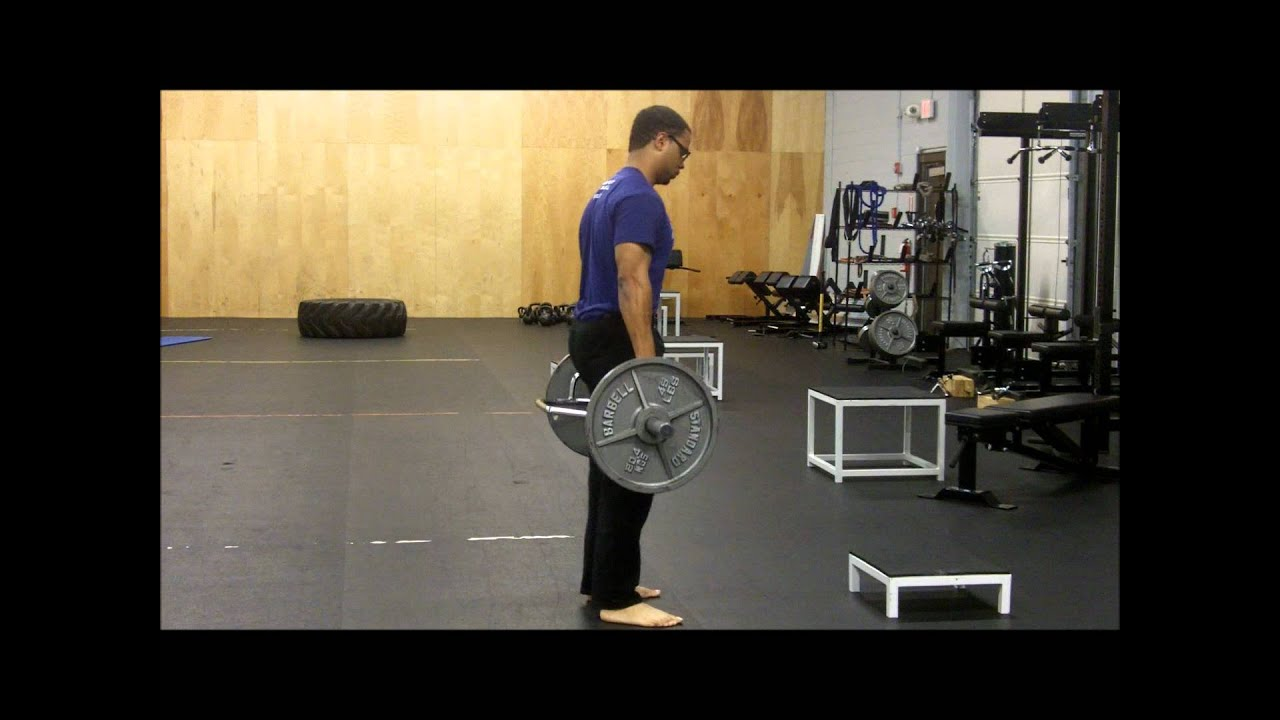 6db52b541e08 Trap Bar deadlift - knee dominant - YouTube