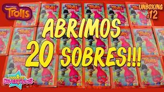 Unboxing 12 de Trolls!!! ABRIMOS 20 SOBRES!!!